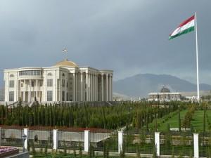 Флагшток Таджикистана