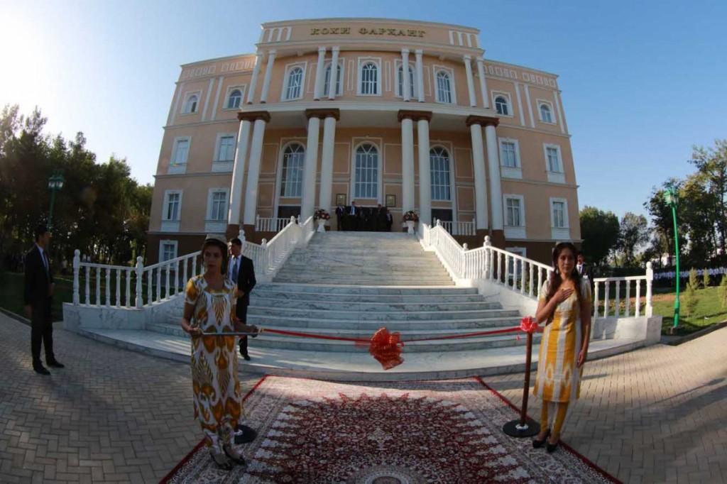 Дом культуры в Гиссаре (открытие 2015 год)