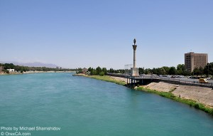 Cir River (in northern Tajikistan)