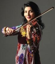 Таджикская скрипачка