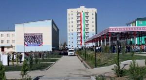 Президентская школа для 400 уч. (открылось 09.2015г.)
