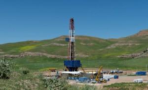 Нефтескважина Сарикамыш