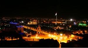 Ночной Душанбе