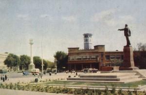 Площадь Ленина в г. Душанбе