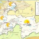 Погода Таджикистана на 10-14 дней по районам и городам