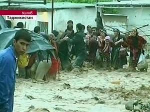 Mudslides in Kulob