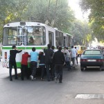 Троллейбусы Душанбе