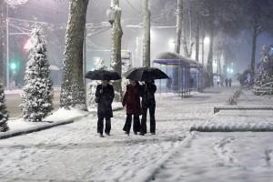 Душанбе зимой