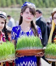 Youngest Tajik girl