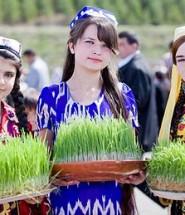 Youngest Tajik girl