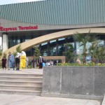 Автовокзал города Душанбе в Таджикистане (Азиан Экспресс)