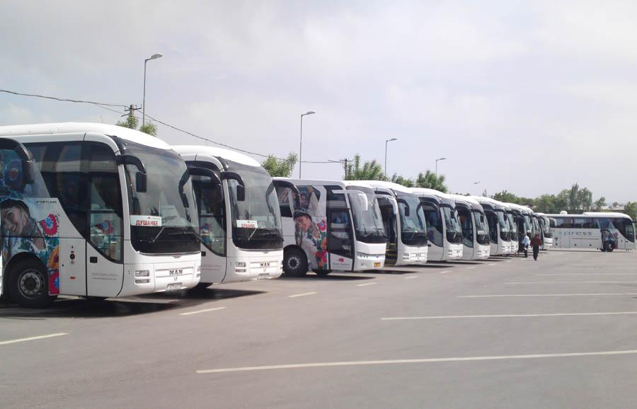 Автобусы г. Душанбе