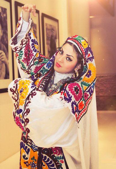 Таджикские наряды