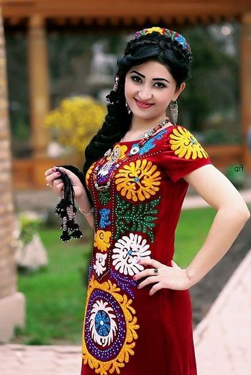 Tajik Dresses