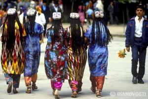 Таджикские косы