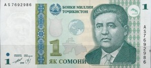 Photo Mirzo Tursunzade in nat. currency