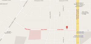 Фото и карта ул. Абая в г. Душанбе