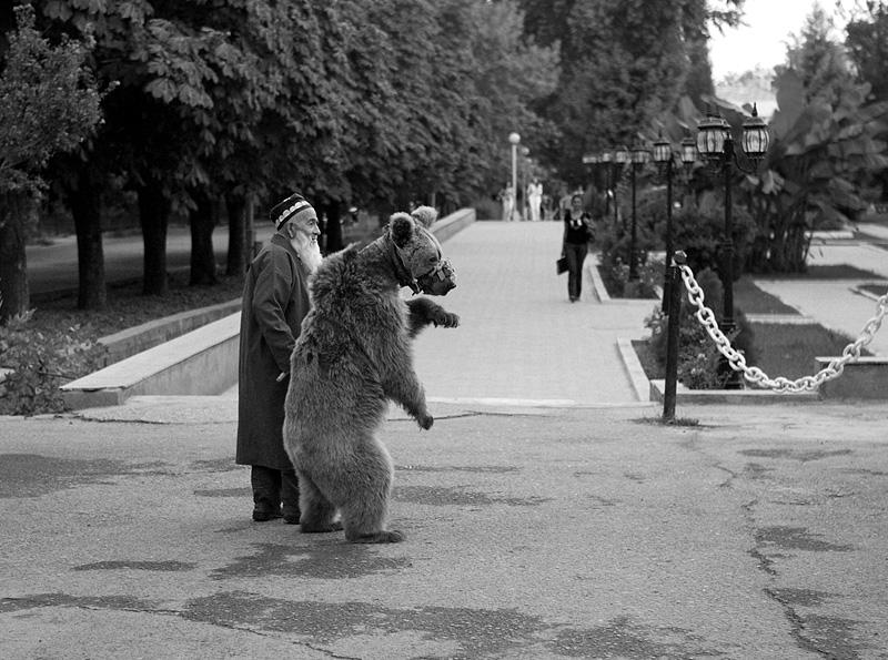 Старик и Медведь Мария