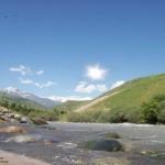 Река Каратаг в  Турсунзадевском районе