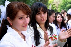 Одноклассники из Таджикистана
