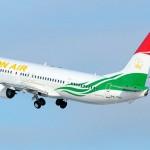 Самолет Таджикистан
