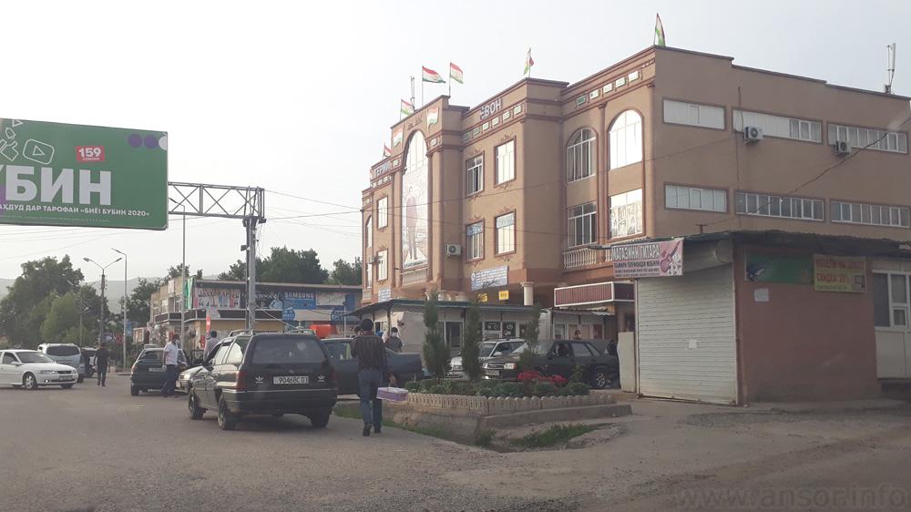 Транспортный терминал города Яван (Автовокзали ш. Ёвон)