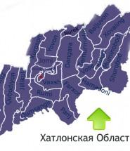 Карта Хатлонской Области