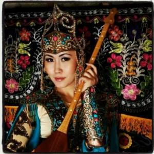 Осем Омарова - Мисс Казахстана