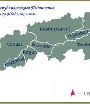 Районы Республиканского Подчинения (сокращенно - РРП )