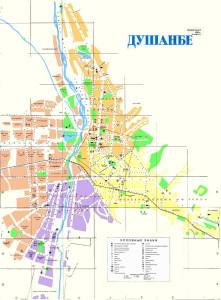 Карта Шохмансурского района