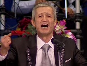 Singer from Tajikistan