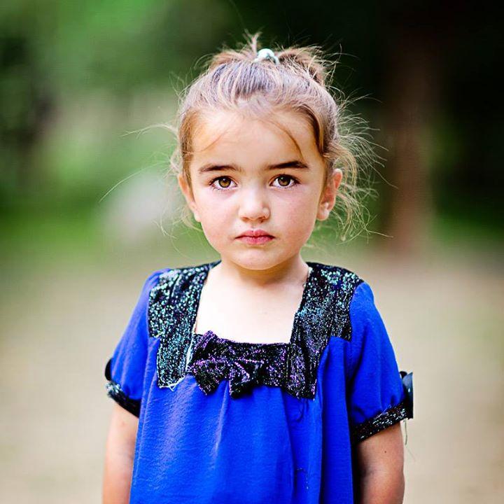 Сладка девчонка ребёнок из Таджикистана