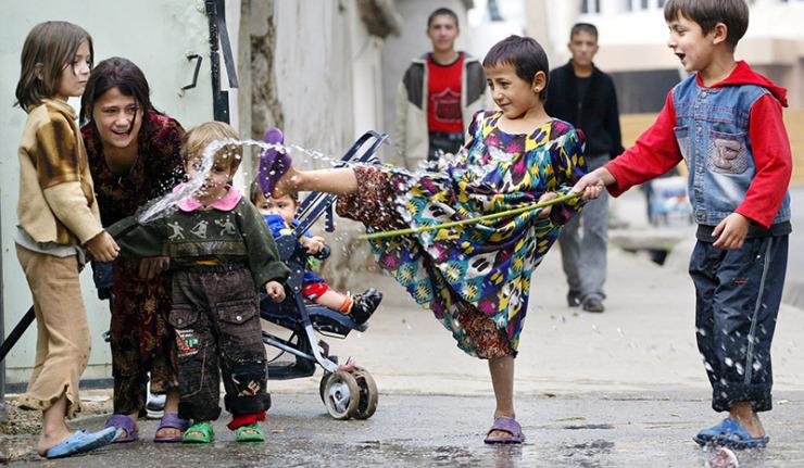 TAJIKISTAN-CHILDREN