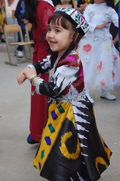 Атлас детей Таджикистана