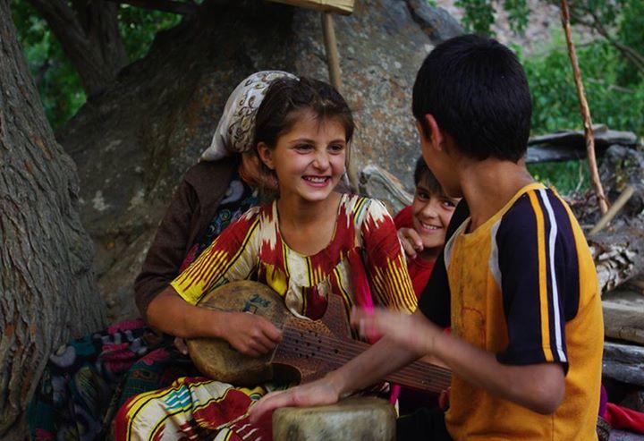 Дети деревни