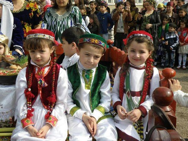 Памирские ребята Таджикистана