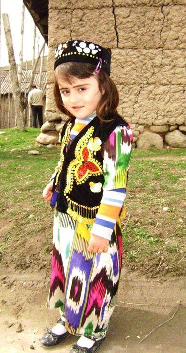 Костюм детей Таджикистана