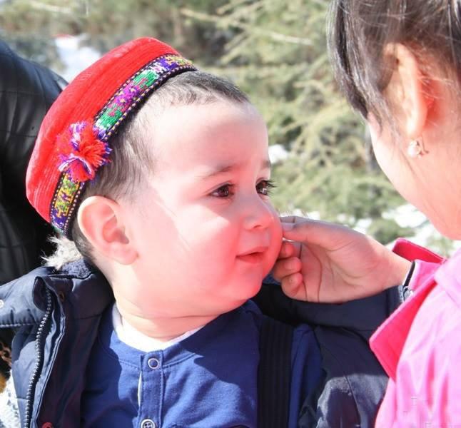Пухленький таджик ребёнок мальчик