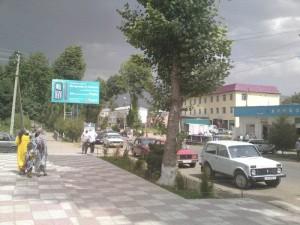 Центральная улица Файзабадского района