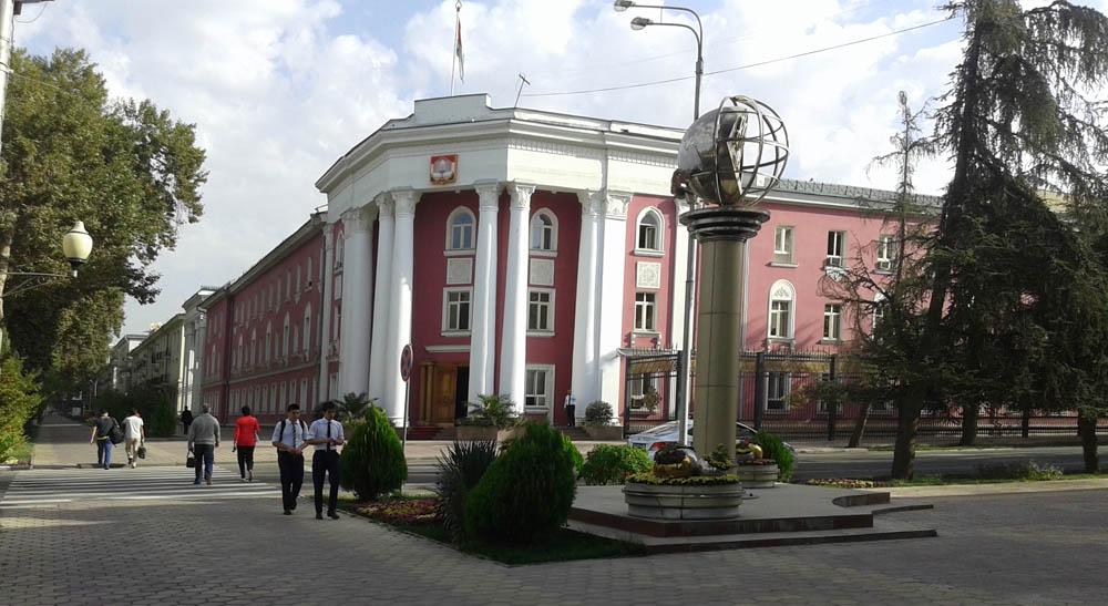 Гродо-начальство города Душанбе