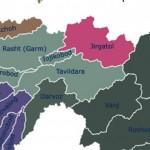 Карта Джиргатальского района со спутника