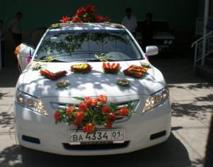 авто в свадьбах Таджикистана