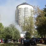 Пожар в Душанбе