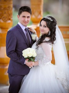 Tajik wedding (bride and groom) PHOTOS