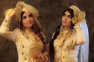 Wedding dress of tajik woman