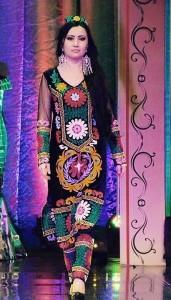 Dress of tajik wooman