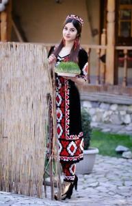 Navruz and Tajik woman