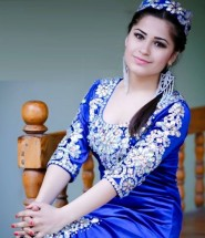 Young wooman of Tajikistan