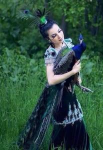 Natura Tajik woman