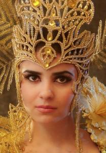 Head-dress of Tajik woman